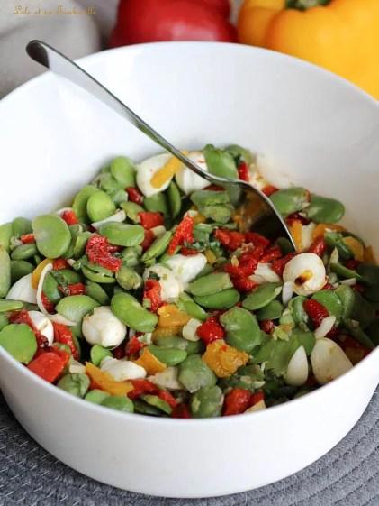 Salade de fèves aux poivrons (6)