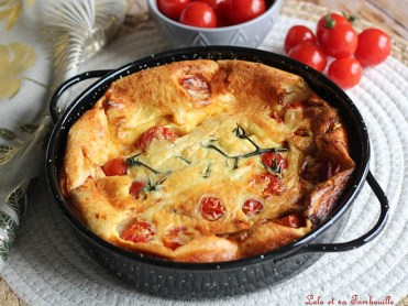 Clafoutis salé tomates cerises & ricotta (3)