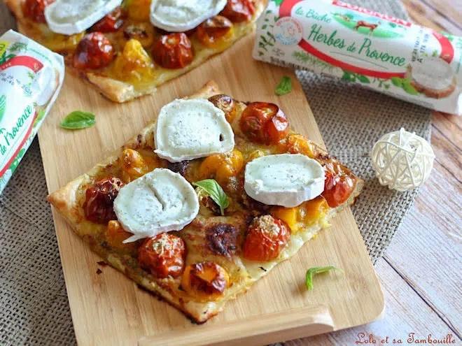 tartes fines tomates,tarte fine tomate,tarte fine tomate chevre,tarte fine tomate cerise