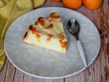 Flan au yaourt & abricots (5)