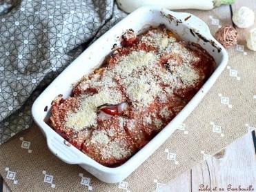 Gratin d'aubergines & tomates (3)