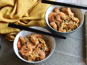 Crevettes sautées sucrés salé (5)