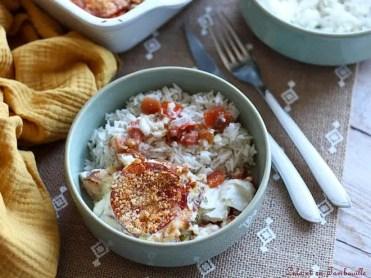 Gratin de cabillaud aux tomates & chorizo (6)