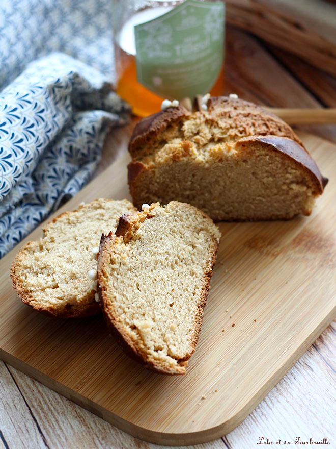 Mouna brioche oranaise, recette traditionnelle de la Mouna