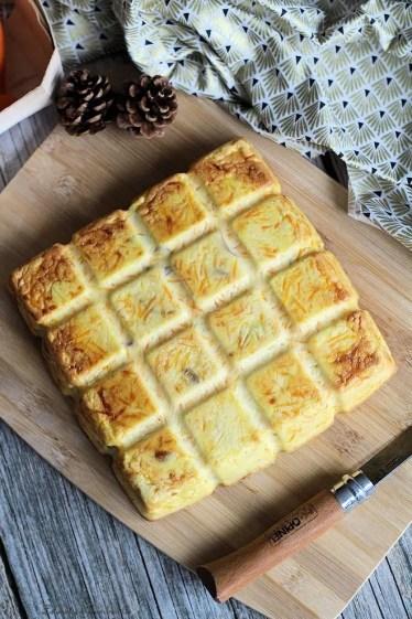 Quiche sans pâte carottes & lardons (2)