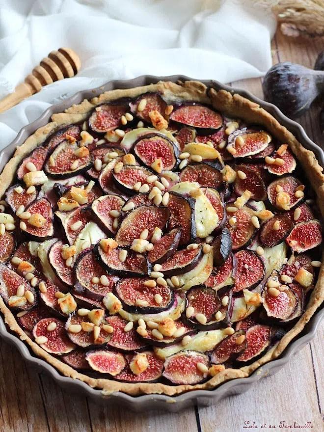 recette avec des figues, recette de tarte maison avec des figues