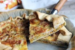 Tarte carottes & bacon (4)
