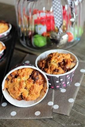 Muffins à la crème & aux Twix (12)