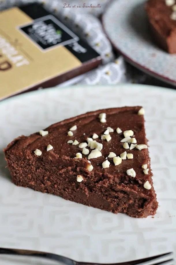 Fondant chocolat & petits suisses {sans beurre, sans gluten}