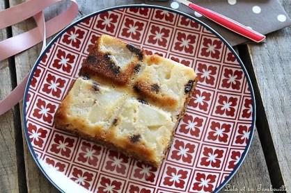 Gâteau aux poires & chocolat (3)