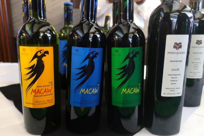 Brazilian wine brand Macaw