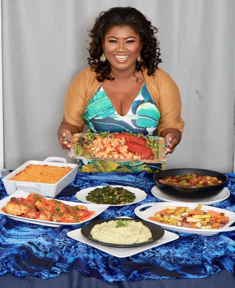 Bahamian chef and cookbook author Raquel Fox