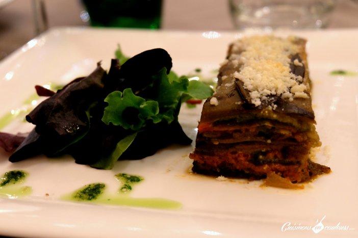 Lasagnes de légumes au pesto - Le 16 Haussman