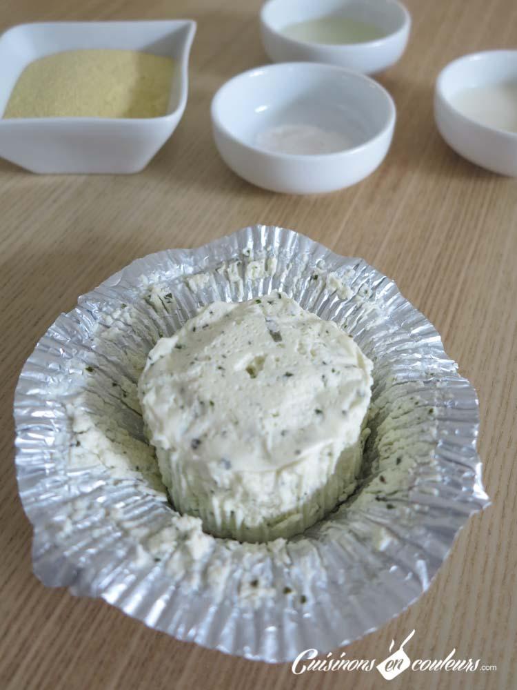 Harcha-au-boursin-14-1 - Harcha salée farcie au Boursin ail et fines herbes