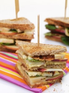 Club sandwich au Reblochon