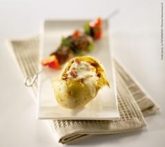Patates surprises au Reblochon