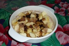 Pommes au raisins secs 1