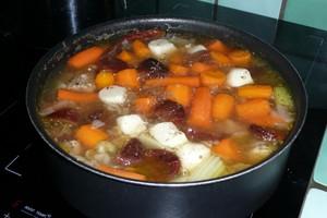 Tajine de veau aux fruits secs 5