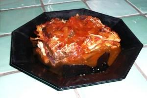Gratin d'aubergines au tofu 5