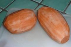 Mêlée de champignons poêlés et purée de patates douces 2