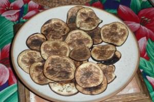 Chips d'aubergine 3