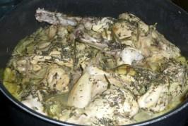 Cuisses de lapin aux aromates et aux épices (5)