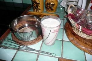 Flan au lait d'amande et 4 épices 1