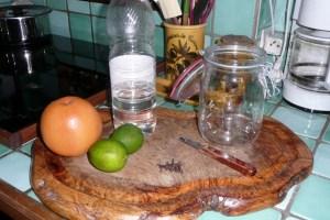 Produit nettoyant aux agrumes 1