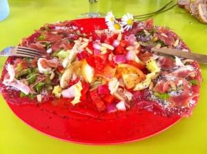 salade de carpaccio