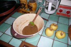 Cake aux pommes et aux 4 épices (1)