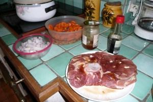 Rouelle de porc au miel et au cidre (2)
