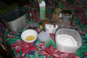 Brioche de Noël à la machine à pain (1)