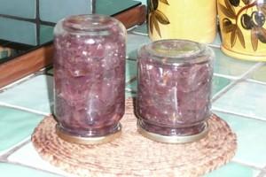 Compotée d'oignons rouges (4)