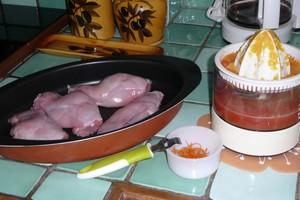 Lapin à l'orange et au curry (1)