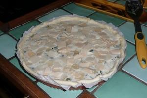 Tarte à la courgette, mozzarella, parmesan (5)