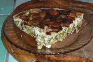Tarte à la courgette, mozzarella, parmesan (7)