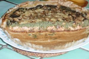 Quiche au saumon et aux orties (7)