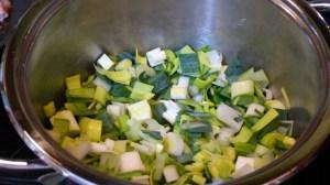 Soupe aux flocons de pois cassés (2)