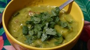 Soupe aux flocons de pois cassés (3)