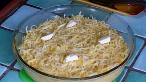 Gratin de polenta sauce tomate au chou kale (1)