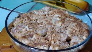 Crumble de pommes crème aux pruneaux (3)