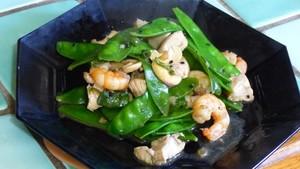 Pois mangetout sautés au wok (2)