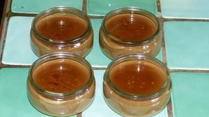 Crème dessert à la chicorée