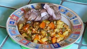 Légumes aux orties et aux flocons d'avoine (2)