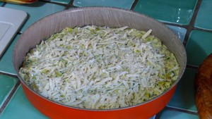 Quiche aux poireaux, au thon et aux crevettes (2)