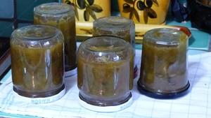 Confiture de rhubarbe aux herbes aromatiques (2)