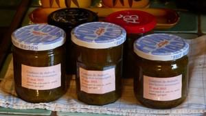 Confiture de rhubarbe aux herbes aromatiques (3)