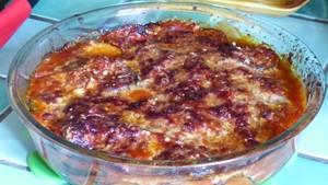 Gratin d'aubergines et tomates au Parmesan (1)