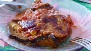 Gratin d'aubergines et tomates au Parmesan (2)