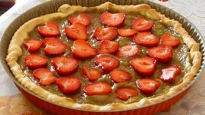 tarte-a-la-rhubarbe-et-aux-fraises